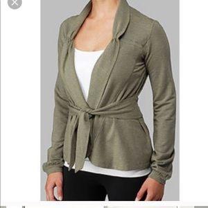 Lululemon Dance Pulse Wrap Sweater